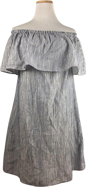 Preload https://img-static.tradesy.com/item/24900143/jcrew-blue-and-white-womens-off-the-shoulder-draped-striped-short-casual-dress-size-0-xs-0-1-650-650.jpg