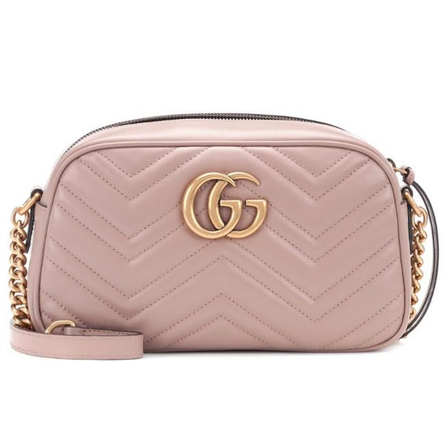 Gucci Marmont Small Quilted Leather Cross Body Bag Gucci Marmont Small Quilted Leather Cross Body Bag Image 1