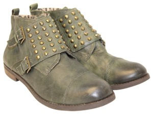 Lucky Brand FOREST GREEN Boots