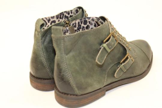Lucky Brand FOREST GREEN Boots Image 1