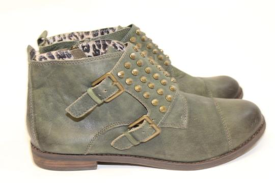Lucky Brand FOREST GREEN Boots Image 2