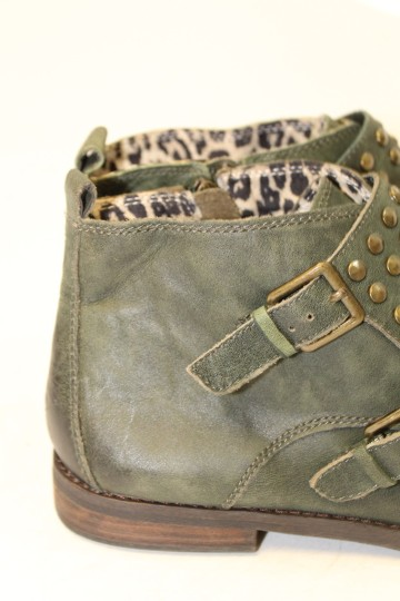 Lucky Brand FOREST GREEN Boots Image 7