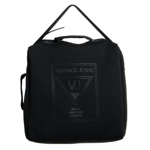 Versace Jeans Collection Black Messenger Bag