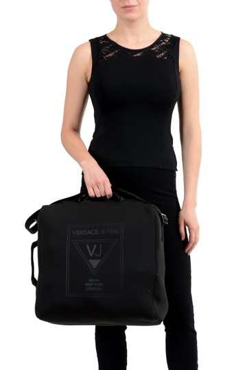 Versace Jeans Collection Black Messenger Bag Image 5
