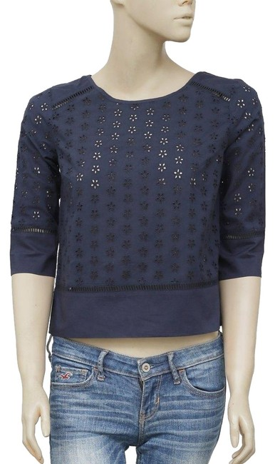 Preload https://img-static.tradesy.com/item/24900171/jack-wills-navy-eyelet-embroidered-lace-xs-blouse-size-2-xs-0-3-650-650.jpg