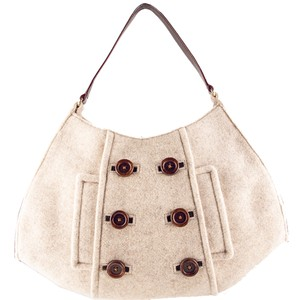 Kate Spade Wool Felt Cadee Cadee Beantown Hobo Bag