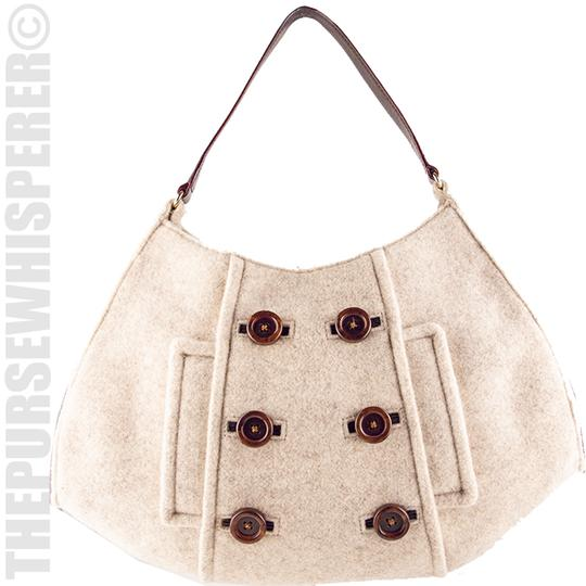 Kate Spade Wool Felt Cadee Cadee Beantown Hobo Bag Image 1