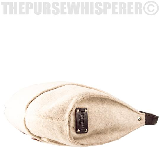 Kate Spade Wool Felt Cadee Cadee Beantown Hobo Bag Image 6