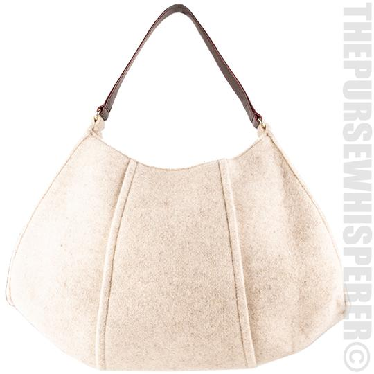 Kate Spade Wool Felt Cadee Cadee Beantown Hobo Bag Image 8