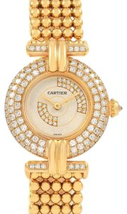 Cartier Cartier Colisee Yellow Gold Diamond Limited Edition Ladies Watch 1980