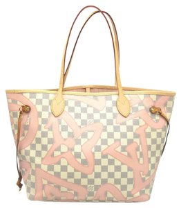 33dd7e6ae058 Louis Vuitton Damier Azur Neverfull Totes - Up to 70% off at Tradesy