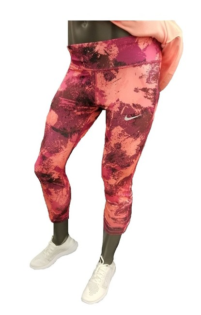 Item - Multi-color Women's Power Essential Tight Fit Tights M 848002-607 Activewear Bottoms Size 8 (M, 29, 30)