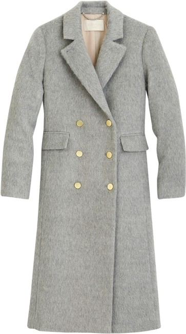 Item - Grey Collection Long Brushed Wool Topcoat Coat Size 10 (M)