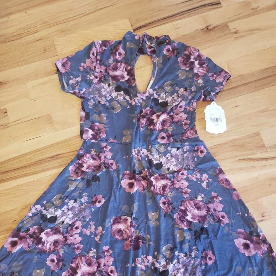 7924631398f Altar'd State Floral Short Casual Dress Size 8 (M) - Tradesy