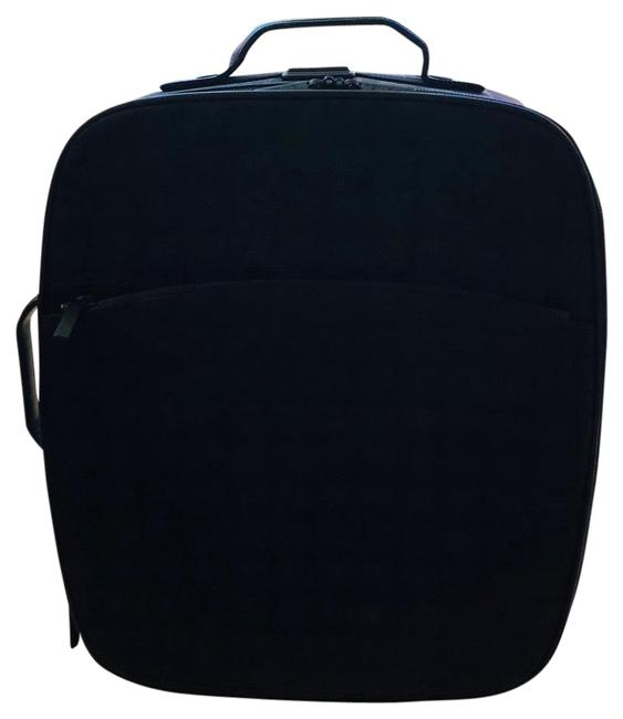 Item - Trolley Rolling Carry On Luggage Black Canvas Weekend/Travel Bag