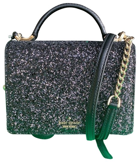 Preload https://img-static.tradesy.com/item/24901486/kate-spade-maisie-laurel-way-glitter-black-cross-body-bag-0-1-540-540.jpg