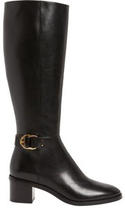 Tory Burch Logo Black Boots