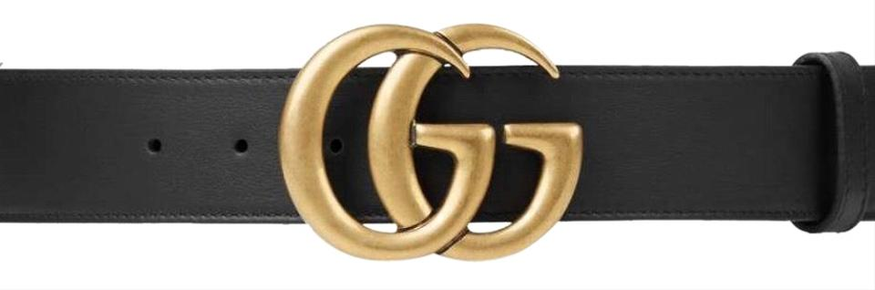 6bc28f6faed Gucci Gucci women s leather Double G buckle belt Image 0 ...