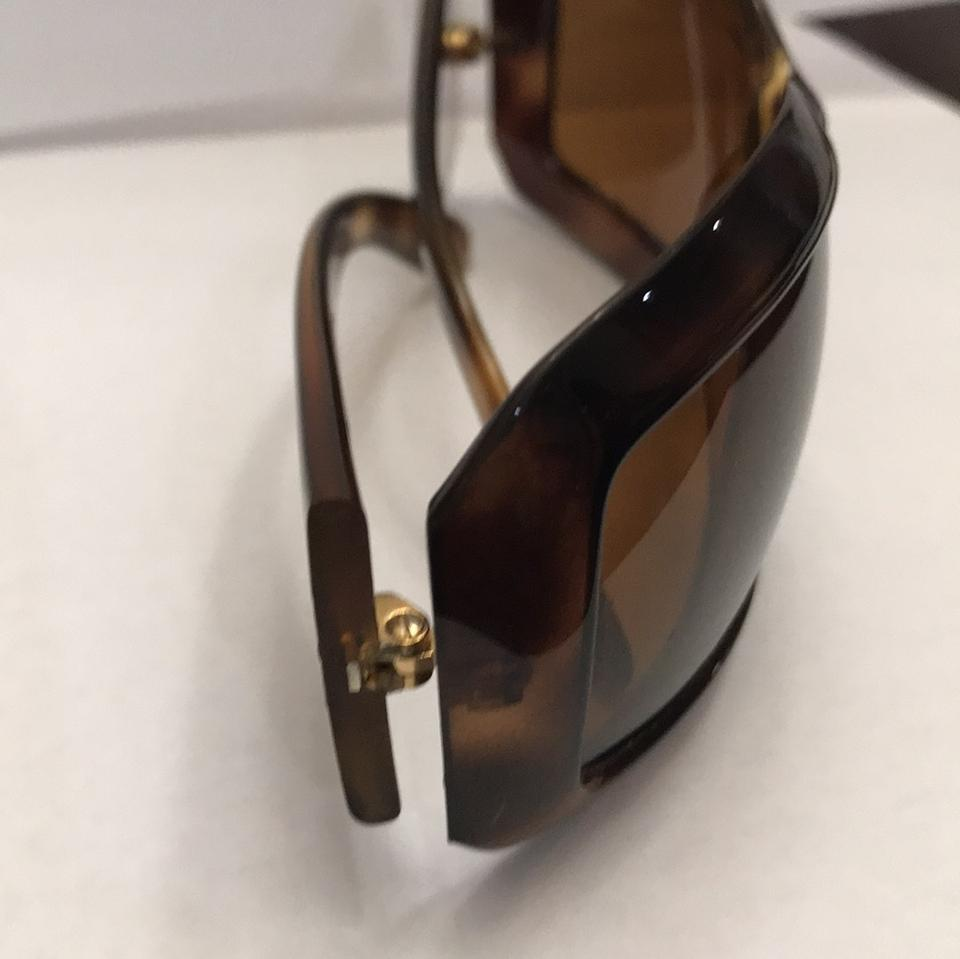 b76838927e Chanel tortoiseshell brown CC mother of pearl sunglasses Image 11.  123456789101112