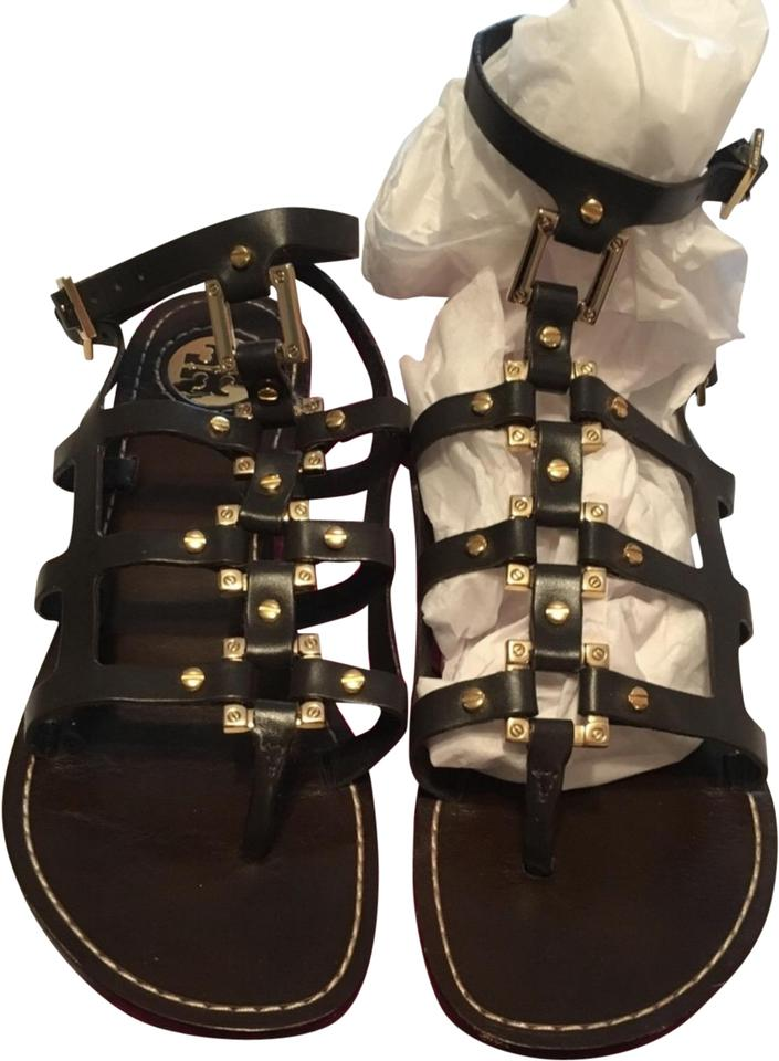 99d137c3f81a Tory Burch Brown Gladiator Sandals Size US 7.5 Regular (M