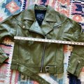 Paige Olive Green Sivan Textured Leather Moto In Peatmoss Jacket Size 0 (XS) Paige Olive Green Sivan Textured Leather Moto In Peatmoss Jacket Size 0 (XS) Image 11