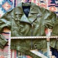 Paige Olive Green Sivan Textured Leather Moto In Peatmoss Jacket Size 0 (XS) Paige Olive Green Sivan Textured Leather Moto In Peatmoss Jacket Size 0 (XS) Image 12
