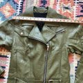 Paige Olive Green Sivan Textured Leather Moto In Peatmoss Jacket Size 0 (XS) Paige Olive Green Sivan Textured Leather Moto In Peatmoss Jacket Size 0 (XS) Image 10