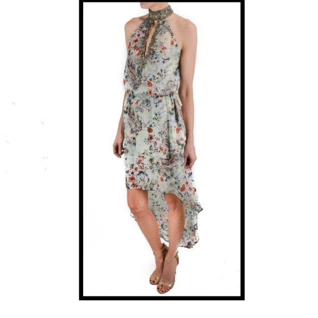Item - Multicolor New Silk Mid-length Night Out Dress Size 4 (S)