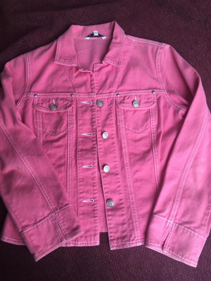 order online coupon code uk store Hot Pink Jean Jacket