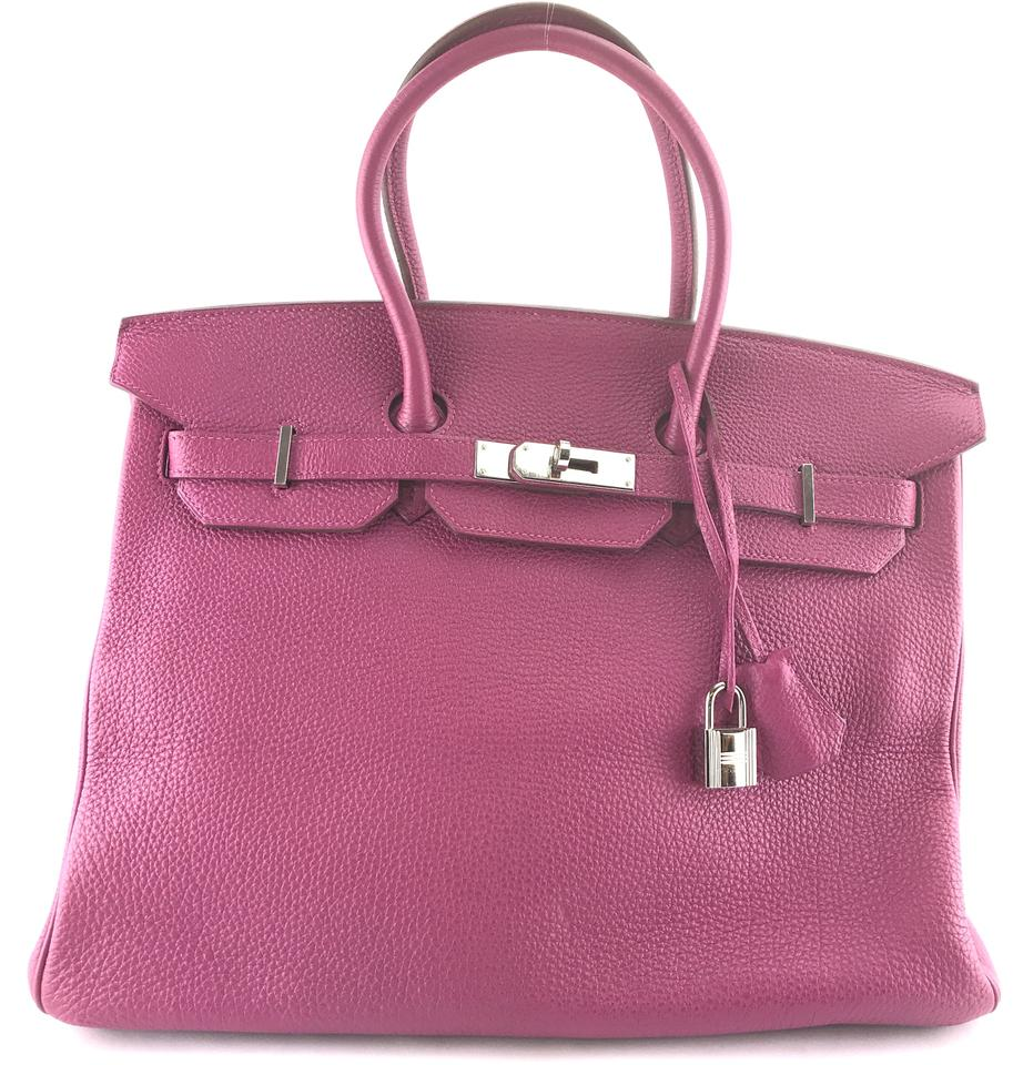 a88988f92420 Hermès Satchel in RARE Horse Shoe stamp Special Order HSS Pink and Grey  Gray bicolor bi ...