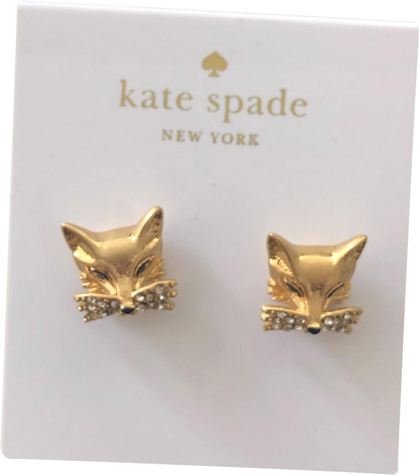 ad915aa9a7a21 Gold So Foxy Studs Earrings