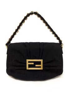 Fendi Zucca Fabric Mia Shoulder Bag