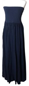Navy Blue. Maxi Dress by Ann Taylor LOFT Summer Maxi