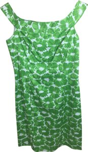 MILLY short dress Green on Tradesy