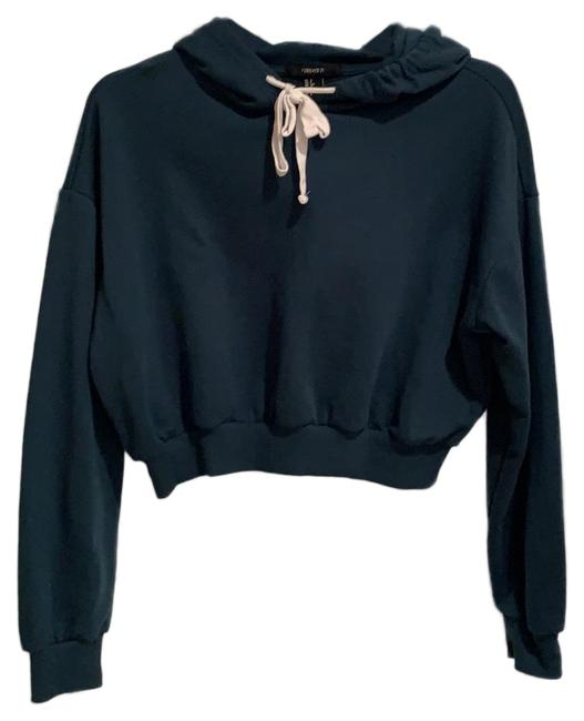 Preload https://img-static.tradesy.com/item/24903114/forever-21-dark-teal-women-s-cropped-workout-hoody-activewear-top-size-4-s-0-1-650-650.jpg