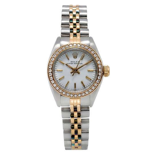 Preload https://img-static.tradesy.com/item/24903151/rolex-stainless-steel-and-18k-yellow-gold-with-white-dial-oyster-perpetual-26mm-w-080ct-diamond-beze-0-0-540-540.jpg
