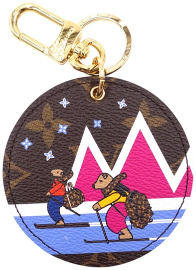 Preload https://img-static.tradesy.com/item/24903217/louis-vuitton-27611-rare-limited-edition-christmas-animation-collection-monogram-and-mutlicolors-key-0-2-540-540.jpg