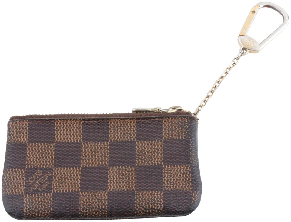 e39335bdddd6 Louis Vuitton Louis Vuitton Brown Damier Ebene Key Pouch Wallet Image 0 ...