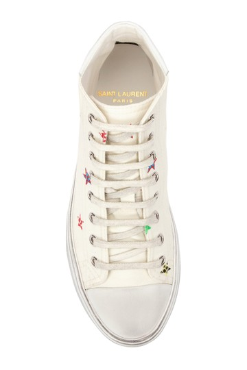 Saint Laurent Bedford Canvas Ysl Sneakers Sl Sneakers Multicolor Athletic