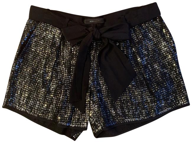 Item - Black with Gold and Silver Sequins Eva Shorts Size 4 (S, 27)