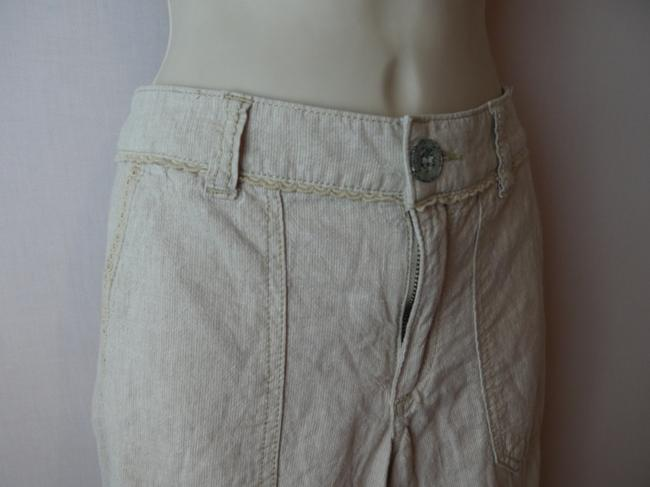 Pilcro and the letterpress Boot Cut Pants ivory