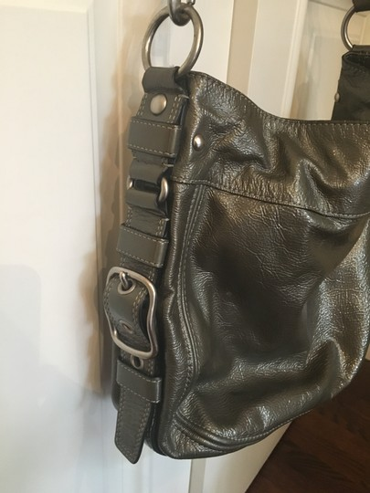 Coach Patent Leather Hobo Bag