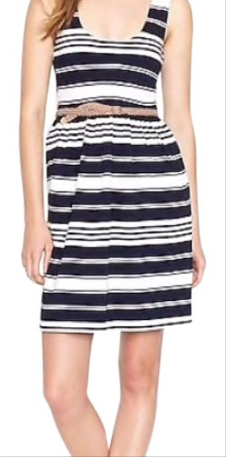 J.Crew Navy Villa Short Casual Dress Size 8 (M) J.Crew Navy Villa Short Casual Dress Size 8 (M) Image 1