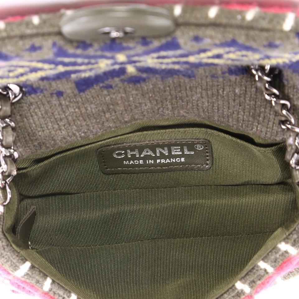 f20249b82303 Chanel Classic Flap Paris-salzburg Extra Mini Olive and Multicolor ...
