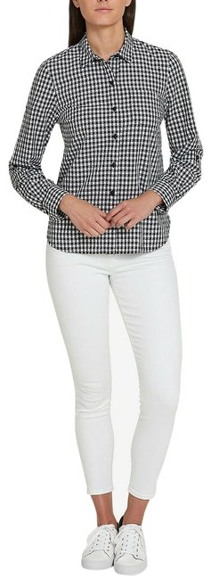 Preload https://img-static.tradesy.com/item/24903620/tommy-hilfiger-blackwhite-cotton-houndstooth-utility-shi-button-down-top-size-12-l-0-1-650-650.jpg