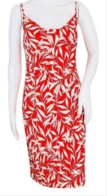 Preload https://img-static.tradesy.com/item/24903708/diane-von-furstenberg-red-white-vintage-silk-leaf-print-mid-length-cocktail-dress-size-4-s-0-1-650-650.jpg