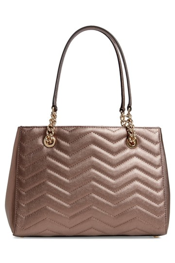 Kate Spade Quilted Leather Chevron Quilted Shoulder Bag