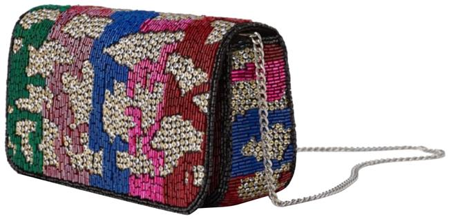Item - Chain Beaded Mini Limited Edition Multi-color Cross Body Bag