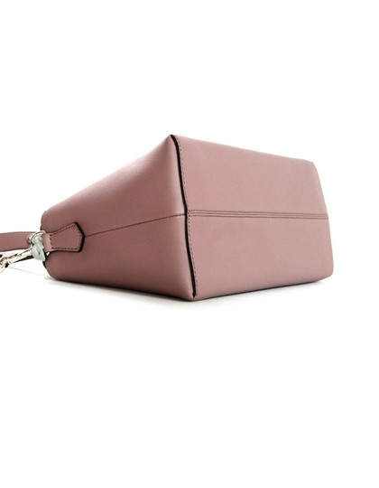 Fendi Rose Leather Boston Cross Body Bag