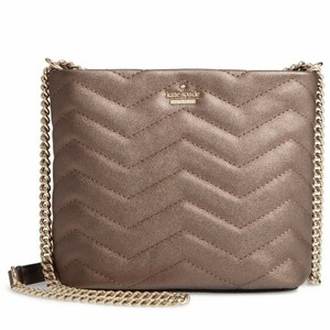 Kate Spade Reese Park Chevron Quilted Cross Body Bag